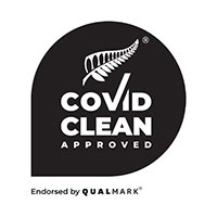COVID CLEAN APPROVED logo